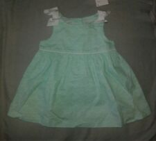 Nwt Gymboree Baby Girl Mint Wave Dress 3-6 Months