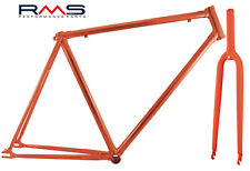 Kit Frame with Fork Fixed Gear RED 700 x 54 RMS - 4958154RK