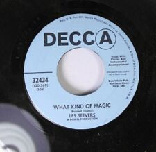 Pop Promo 45 Les Seevers - What Kind Of Magic / Stop, Look, Surrender On Decca