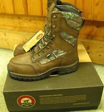 "Irish Setter Men's Waterproof 10"" Havoc Boots - Leather/Camo - 13D  -#840-NIB!"