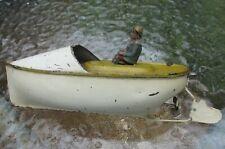Arnold Bing clockwork speedboat c1900 works Germany