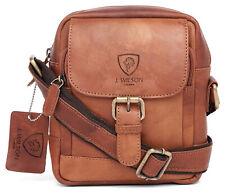 06adafd4e689 Leather Crossbody Bags for Men for sale | eBay