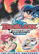 Beyblade The Movie Fierce Battle DVD NEW factory sealed