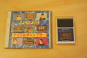 PC Pachislo Idol Gambler NEC PC Engine Games Express import JAP cib
