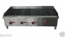 """New! Radiant Char Broiler Gas Grill 48"""""""