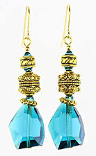 Crystal Gold Plated Other Reproduction Vintage Jewellery