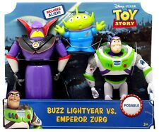 Toy Story 4 Buzz Lightyear vs. Emperor Zurg Action Figure 3-Pack