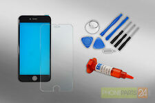 Iphone 6s Écran LCD Cadre en Verre Kit de Réparation + Loca + Film Blindé Noir