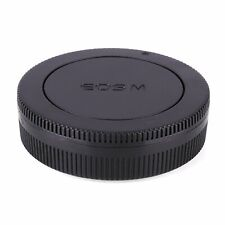 Body Front & Rear Lens Caps Cover For Canon EOS M EF-M Mount M M2 Mirrorless Cam