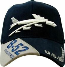 AIR FORCE B-52 BOMBER STRATOFORTRESS HAT EMBROIDERED U.S MILITARY BALL CAP