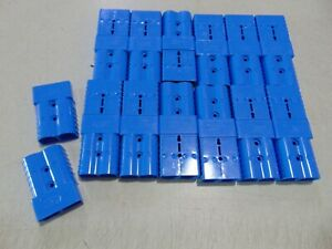 26 Pcs BLUE Anderson Power Products SB350 Power Plug Quick Disconnect Bulk Lot
