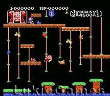 Donkey Kong Classics - 2 Games In 1 - NES Nintendo