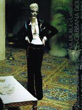 Publicité advertising 2004 Haute Couture Dolce & Gabbana