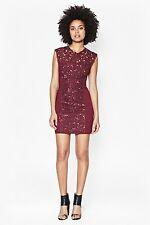French Connection  Embellished Lace Sheath Dress ( size 8)