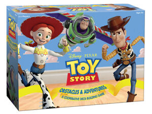 TOY STORY OBSTACLES & ADVENTURES–A Cooperative Deck-Building Game 8+ 2-5 players