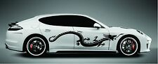 "Chinese Tribal Dragon Car Side Decals Sticker Vinyl Truck Car Suv 60"" X 13"""