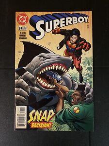 Superboy #67 DC Comics 1999 NM King Shark Cover Appearance