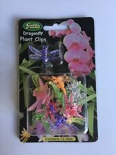 Gubler Dragonfly Clips for Orchids or plant spikes Pack of 12