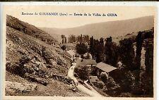 CP 39 Jura - Environs de Cousance - Entrée de la Vallée de Gizia