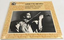 Ginette Neveu Chausson Debussy Ravel LP EMI References