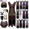 1920s Flapper Dress Gatsby Formal Evening Prom Party Cocktail Dress Vintage Deco