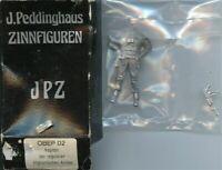 J.Peddinghaus 1:35 Afghanistan Army Captain White Metal Figure Kit #OBEP02