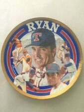 Collector plate Sports impressions Nolan Ryan limited edition 1993