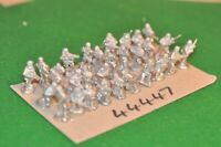 20mm ww2 / generic - castings unpainted 30 figures - inf (44447)