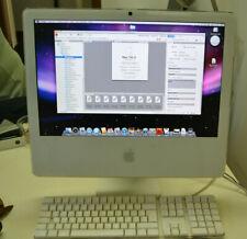APPLE IMAC (2007) mac os  x 10.5.8 cpu 2.1  ram 2,5