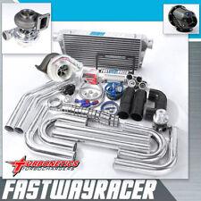 Universal GT35 T4 Turbo Kit W/ Turbonetics Hurricane 7868 Benita Turbo Charger