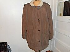 Ladies FORECASTER SPORT Coat Size Large Brown / Beige WARM! Hooded EUC
