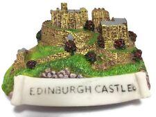 Edinburgh Castle Scotland Souvenir Collection 3D Fridge Refrigerator Magnet 104