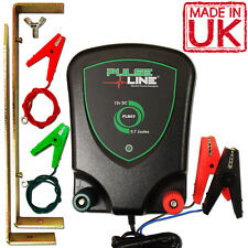 Electric Fence Energiser 12v Battery Powered 0.7j 2 Year