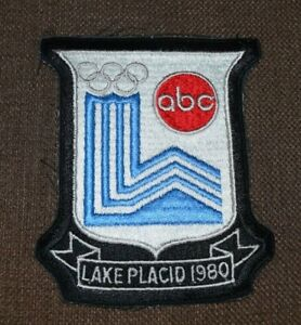 1980 LAKE PLACID OLYMPIC WINTER GAMES ABC TV SPORTS CREW MEMBER PATCH NOS Ski