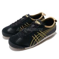 Asics Onitsuka TIger Mexico 66 Black Gold Mens Retro Running Shoes 1183A349-001