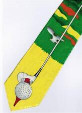 Golf Sport Cartoon Novelty Fancy Neck Tie