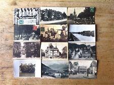 LOT 12 cartes postales anciennes