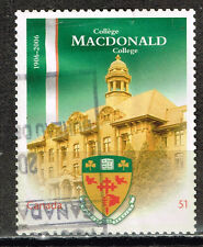Kanada Famous Architecture Macdonald College stamp 2006