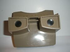 Vintage Viewmaster Viewer Sawyers Brown Tan Plastic Slide Picture View Master