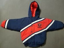 Vintage NFL Mighty Mac Kids Size 6 Chicago Bears Insulated Hoodie Jacket