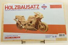 Pebaro 865/8 Holzbausatz Renn-Motorrad NEU und OVP