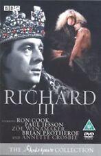 Richard III - BBC Shakespeare Collection 1983 Ron Cook Braand New Sealed
