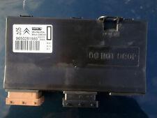 PEUGEOT 407 607 / CITROEN C5 C6 FRONT ELECTRIC SEAT CONTROLLER / ECU  9650281980