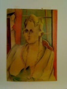 Joseph Marsh Sheridan, Pastel on vellum, unframed, un-matted