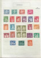 SWITZERLAND 1960-61 On Album page VFU..Removed for shipping..