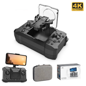 4K Camera HD Foldable One Key Return FPV Follow Me RC Helicopter Mini Drone Toy