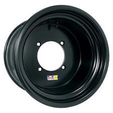 "DWT ULTIMATE Sport Utility Wheel BLACK 14"" 14x8 4+4 Polaris RZR XP4 XP 4"