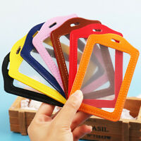 Protective Shell Office Supplies ID Card Holder Office School Badge Case Safety