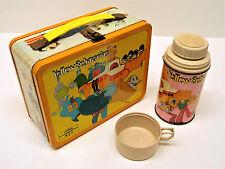 Beatles Memorabilia Lunch Box Yellow Submarine Thermos Flask USA Original 1968