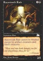 4x Razortooth Rats MTG Weatherlight NM Magic Regular